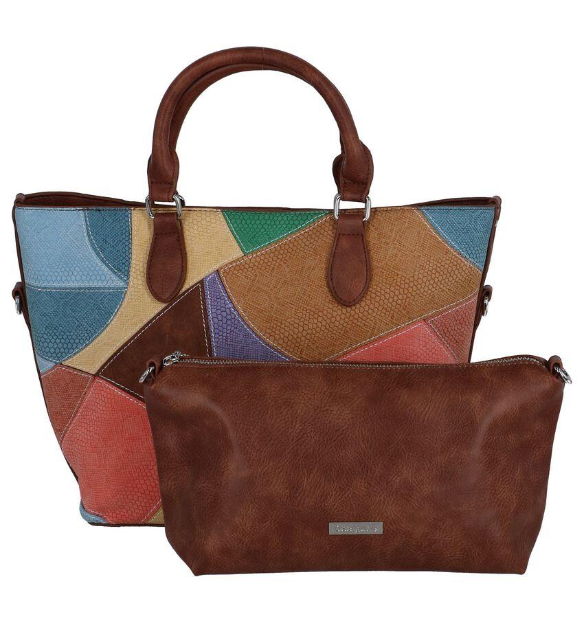 Multicolor Bag in Bag Handtas Desigual