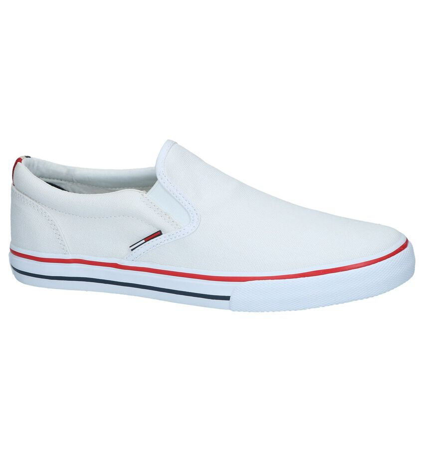 Witte Instappers Tommy Hilfiger Tommy Jeans Textile Slip On