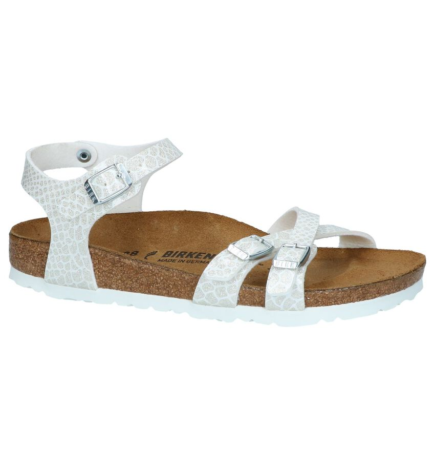 Witte Sandalen Birkenstock Kumba