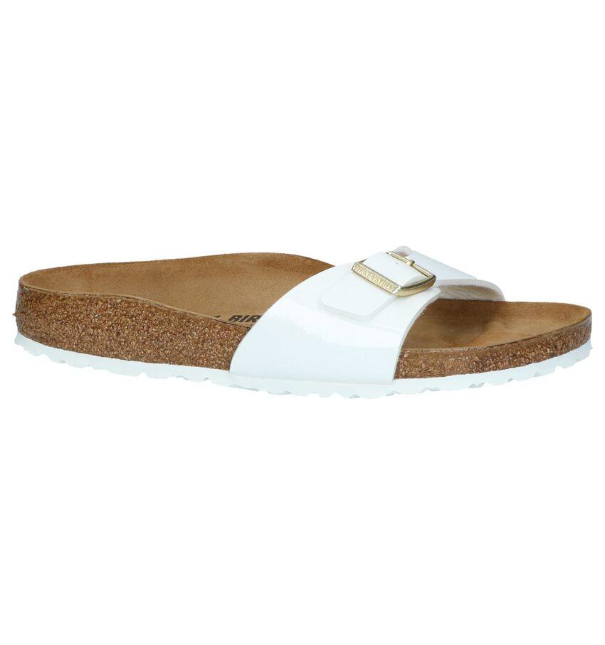 Witte Slippers Birkenstock Madrid