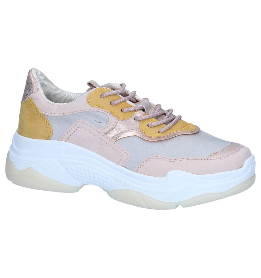Lichtroze Lage Sneakers s.Oliver