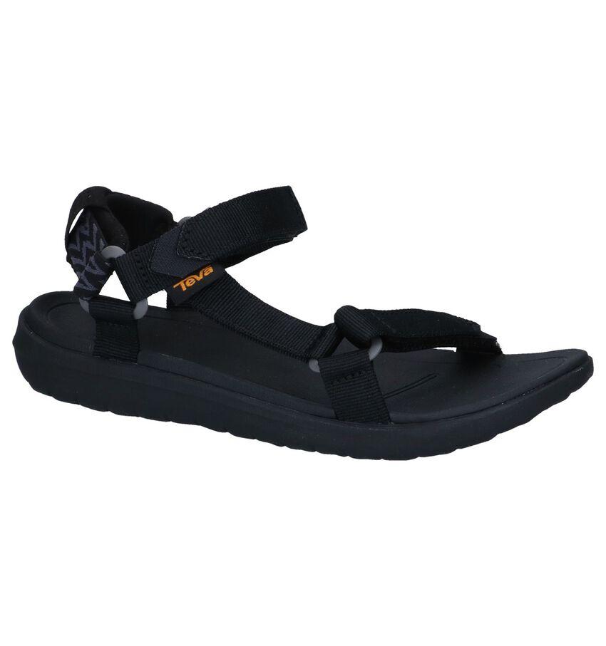 Zwarte Sandalen Teva Sanborn Universal