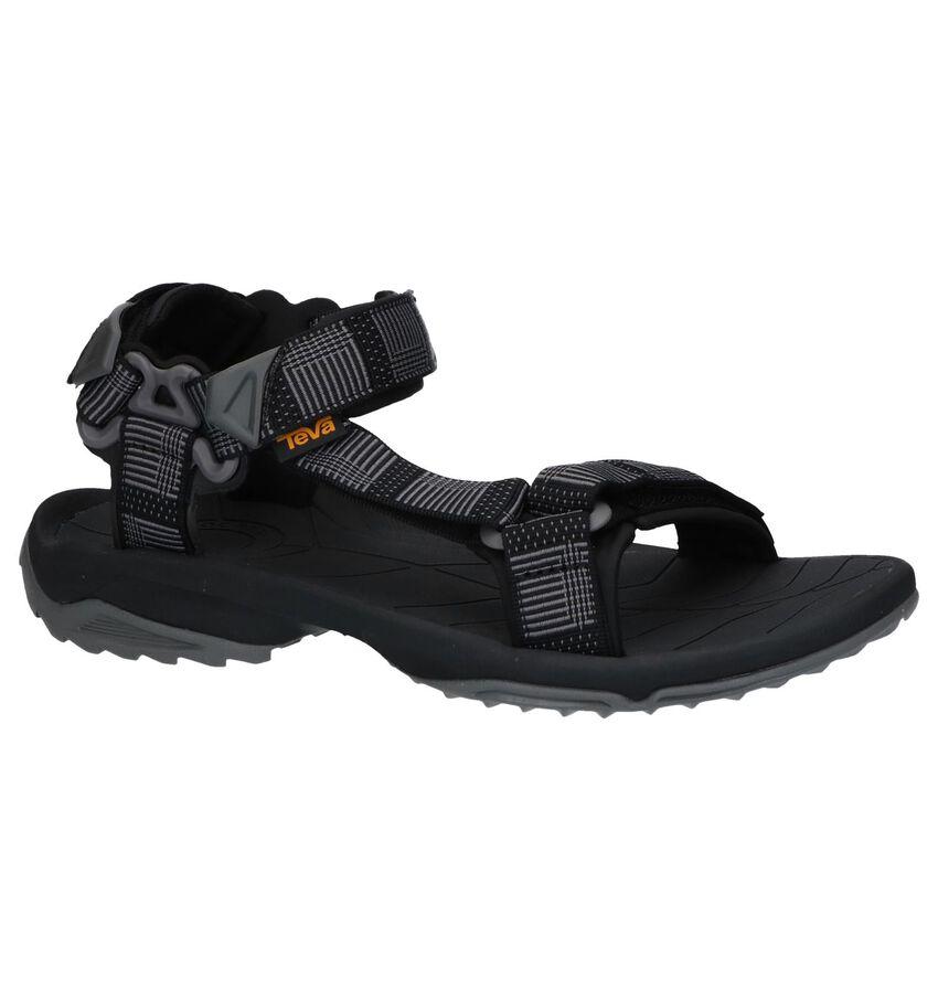 Zwarte Sandalen Teva Terra Fi Lite