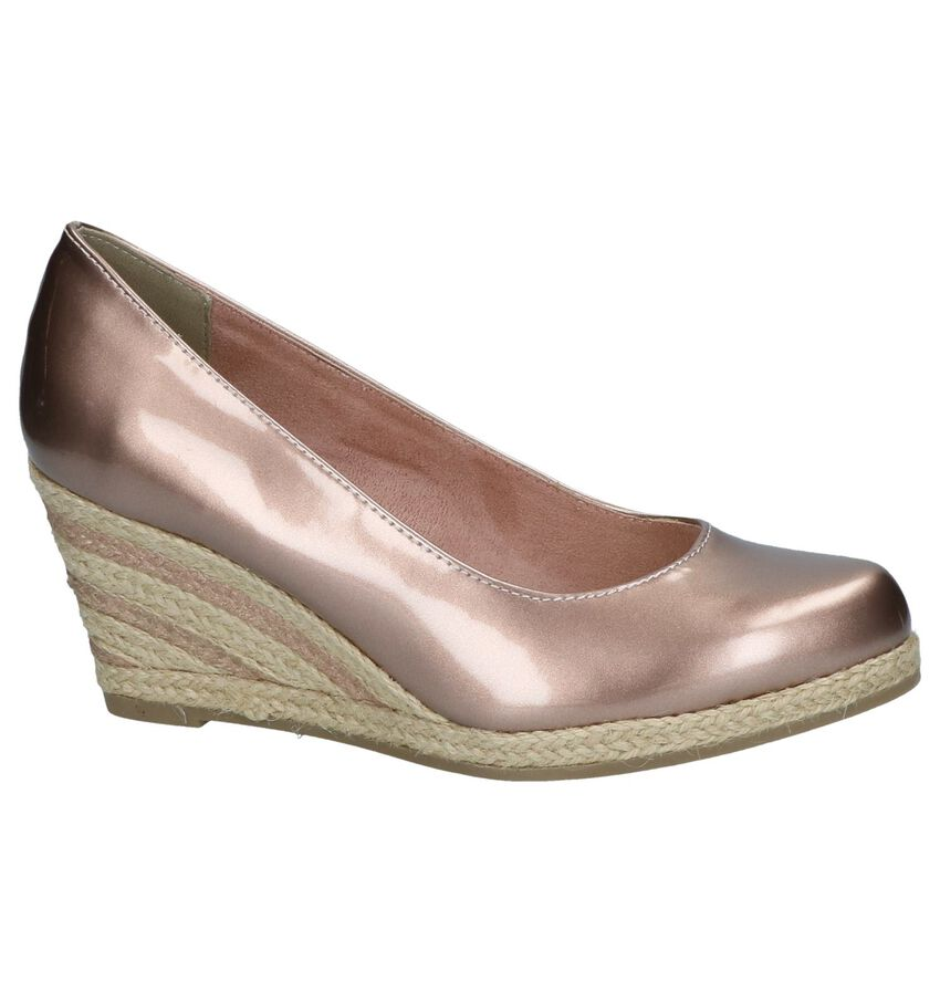Metallic Roze Pumps Marco Tozzi