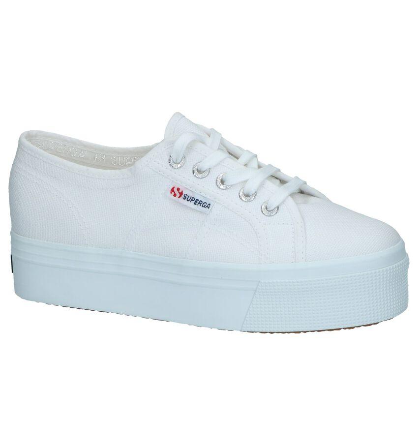 Witte Sneakers Superga Acotwupdown