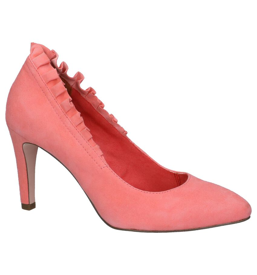Roze Pumps met Franjes Tamaris TOUCH it