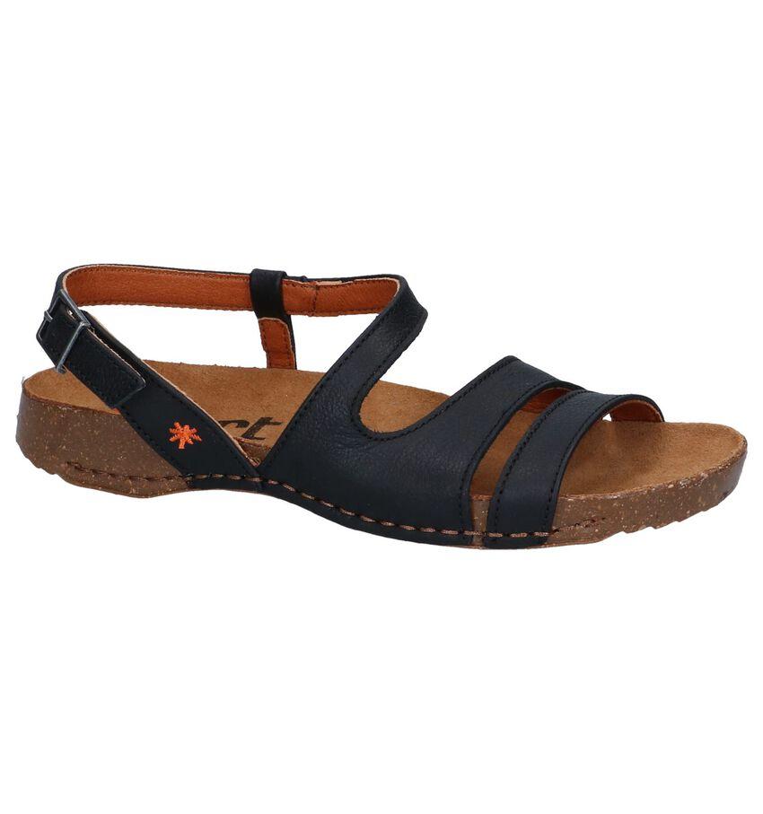 Zwarte Sandalen Art