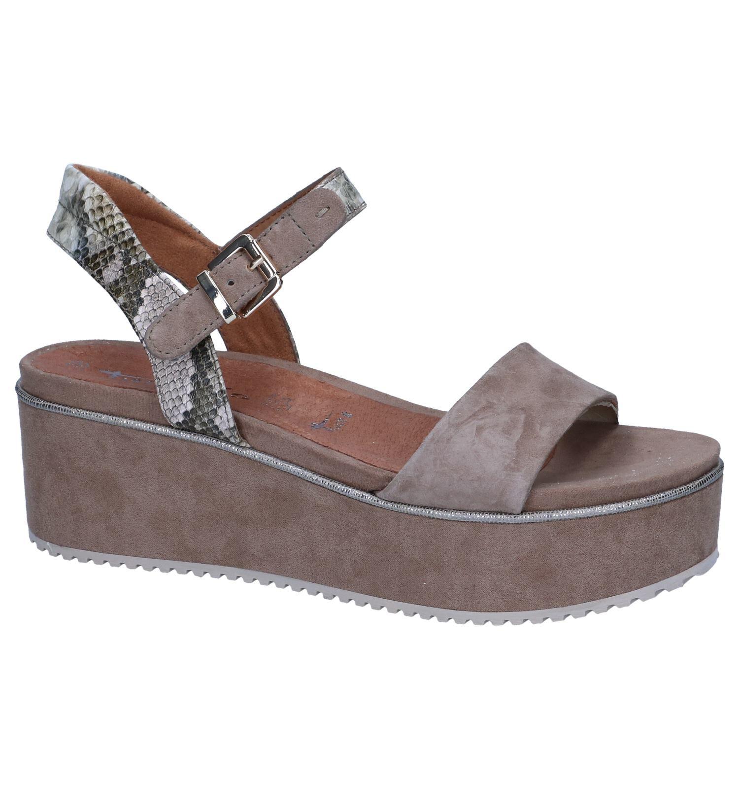 ▷ Plateau sandalen kopen? | Online Internetwinkel
