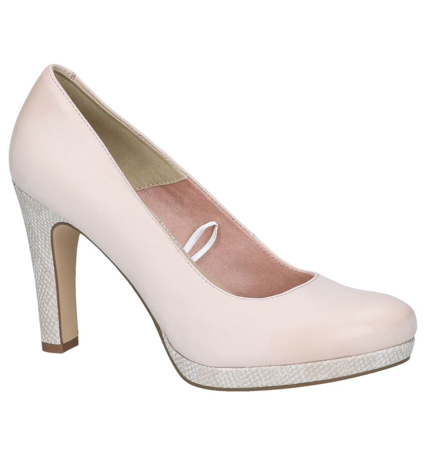 Beige High Heel Pumps Tamaris TOUCH it