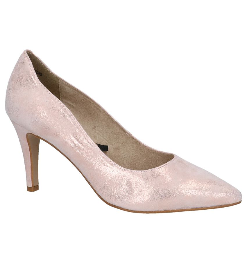 Metallic Roze Pumps Tamaris TOUCH it