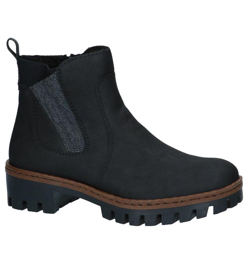 Zwarte Chelsea Boots Rieker