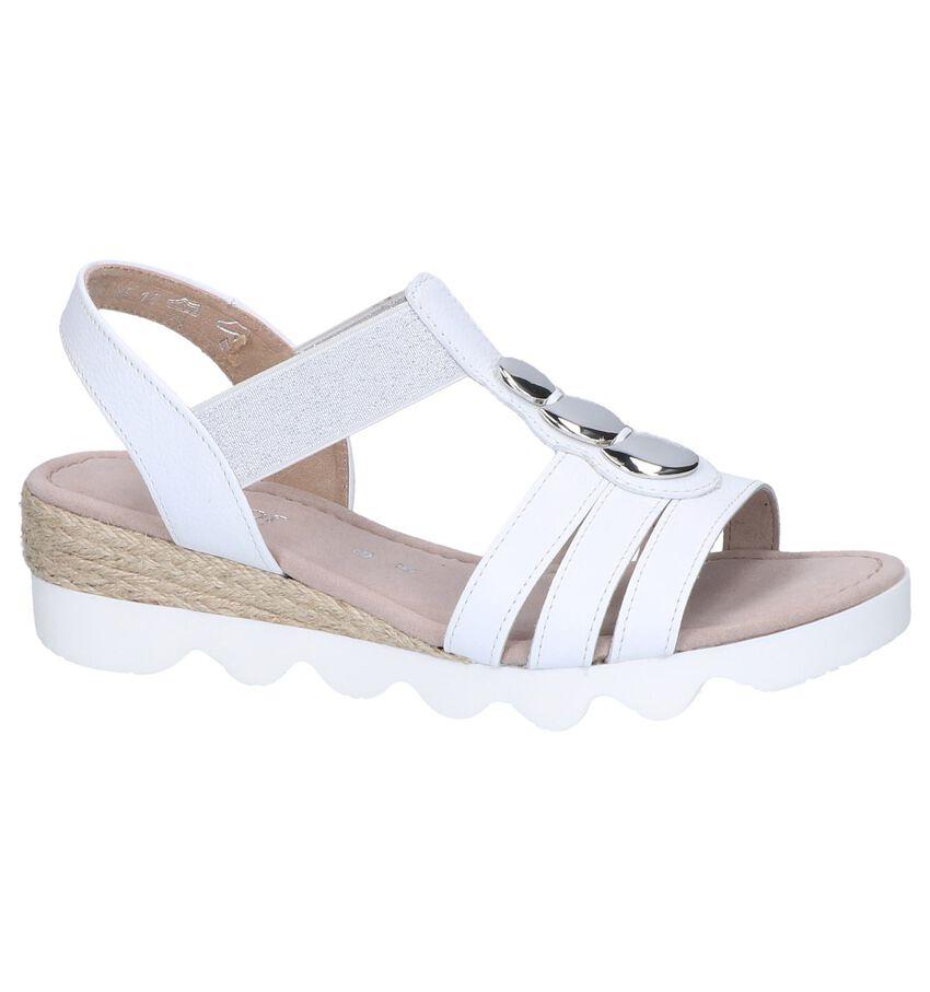 Witte Sandalen Gabor Comfort
