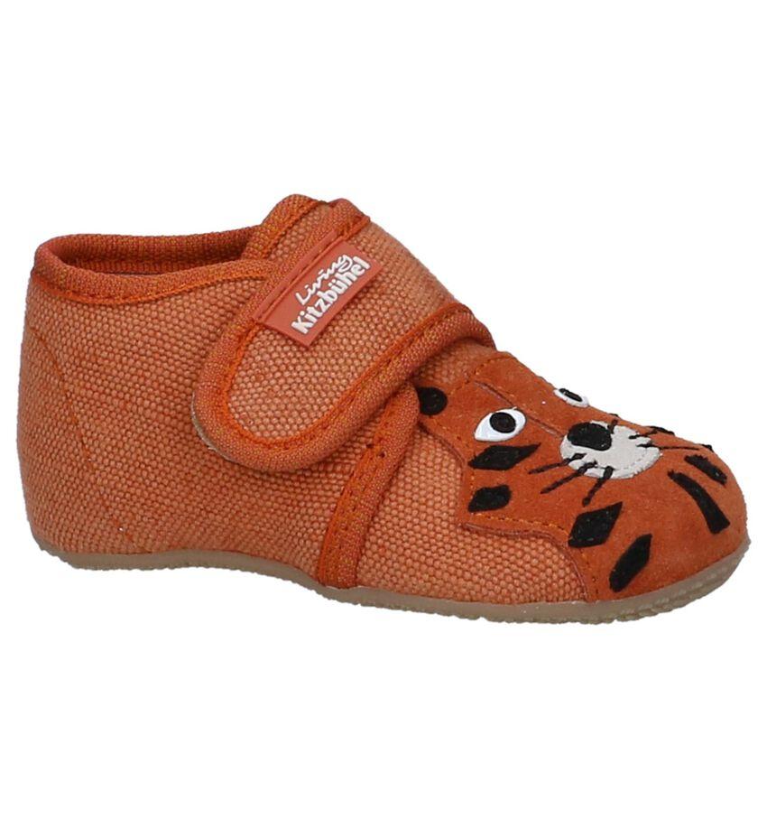 Oranje Babypantoffels Living Kitzbühel