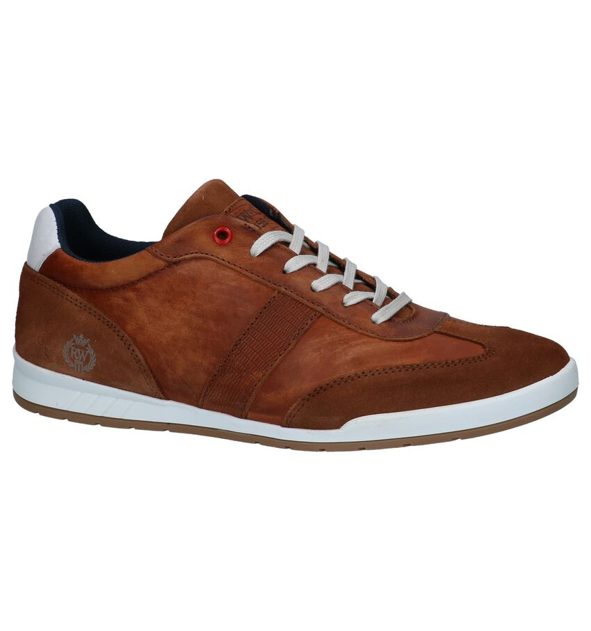 River Woods Ear Cognac Casual Veterschoenen