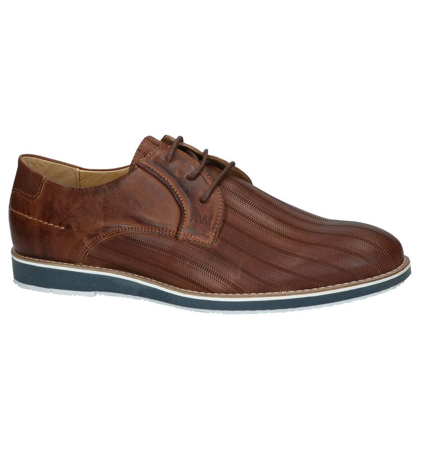 Cognac Nette Veterschoenen River Woods Move