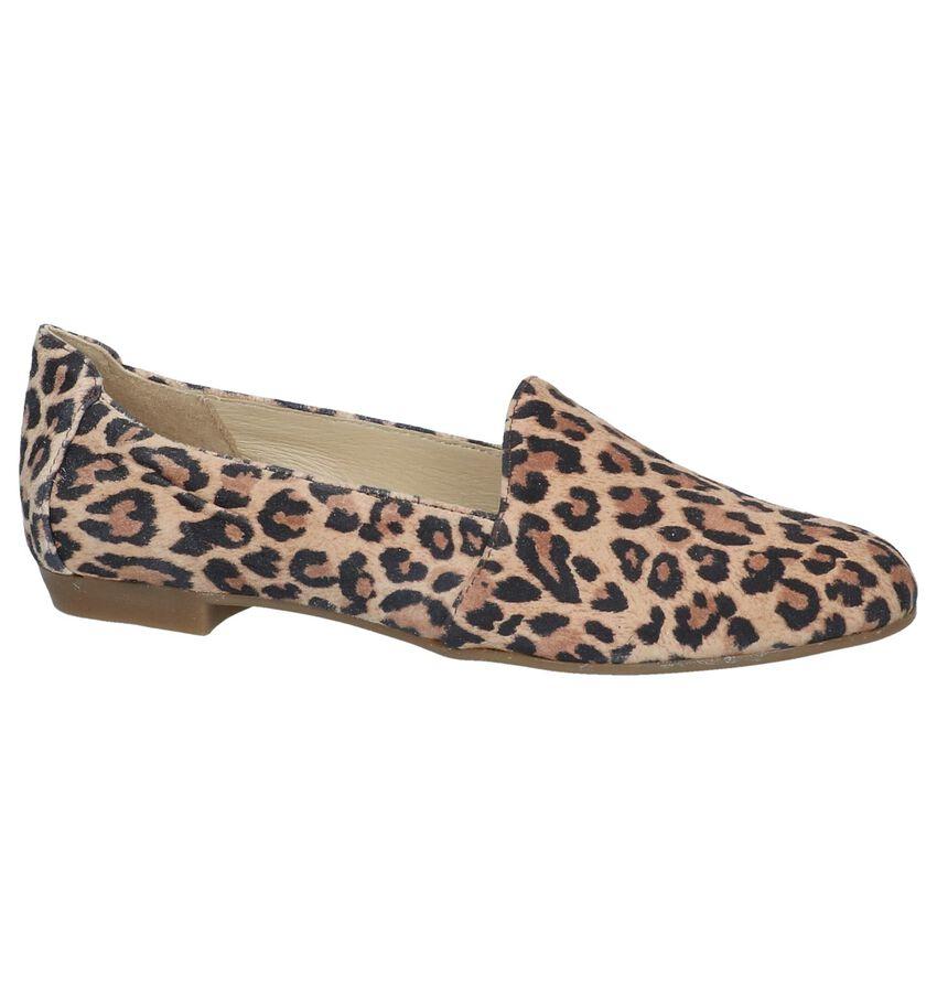 Loafers met Luipaardprint Via Limone by Torfs