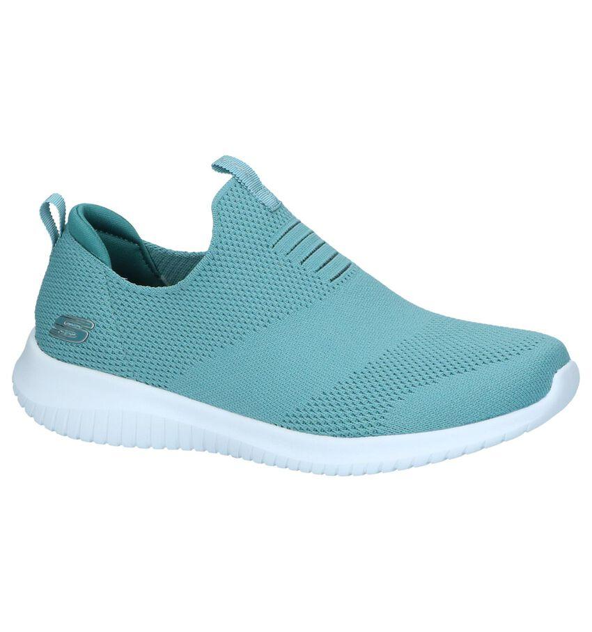 Turquoise Slip-on Sneakers Skechers
