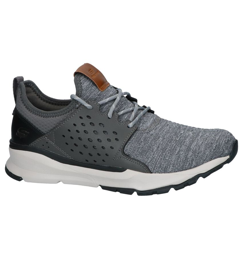 Grijze Slip-on Sneakers Skechers