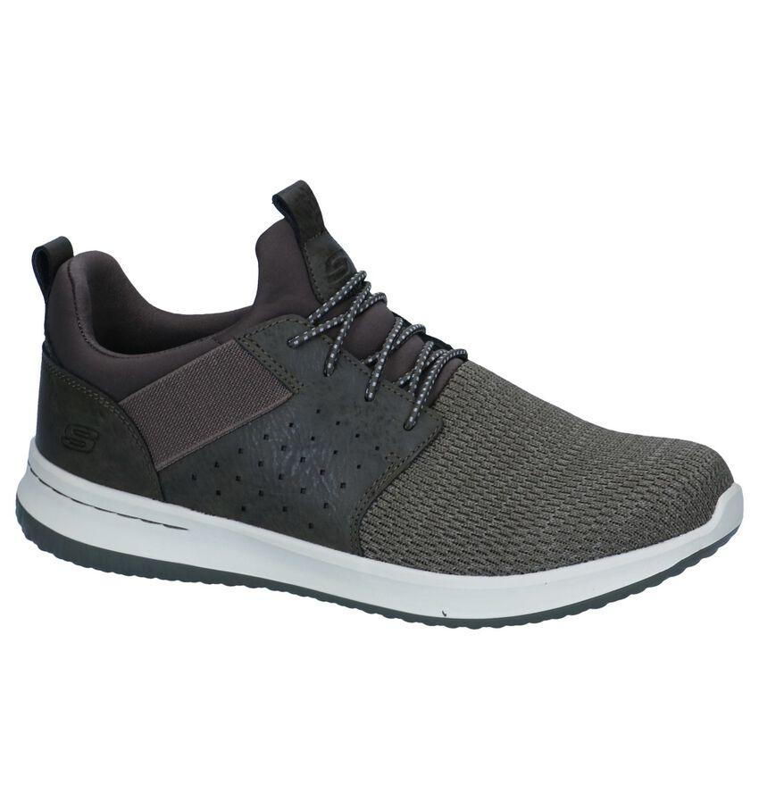 Kaki Slip-on Sneakers Skechers