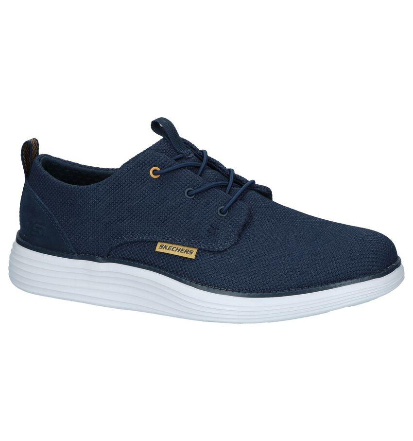 Donkerblauwe Slip-on Sneakers Skechers