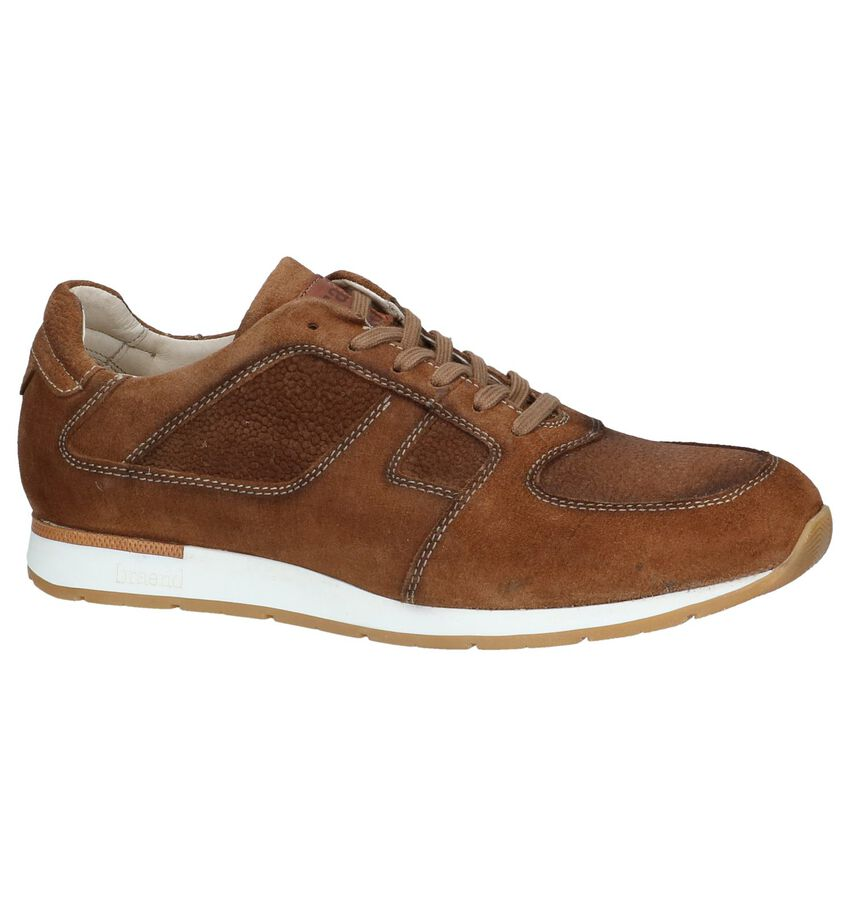 Cognac Casual Veterschoenen Braend