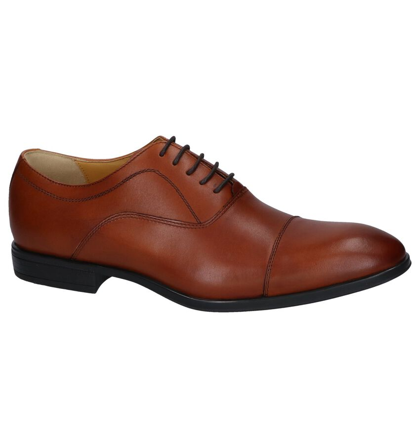 Cognac Nette Veterschoenen Steptronic Falcon