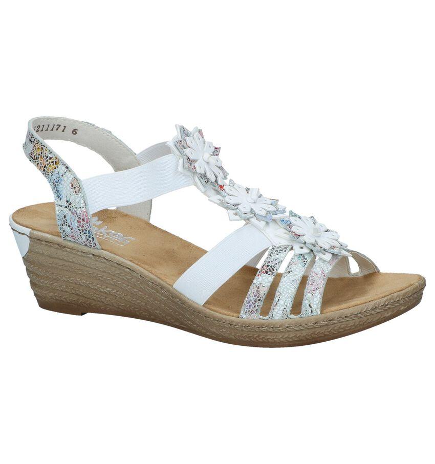 Witte Sandalen Rieker