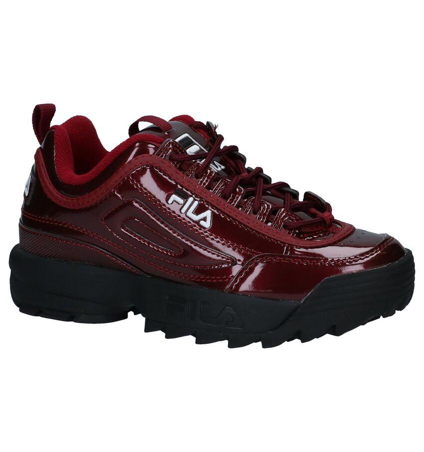 Bordeaux Sneakers Fila Disruptor