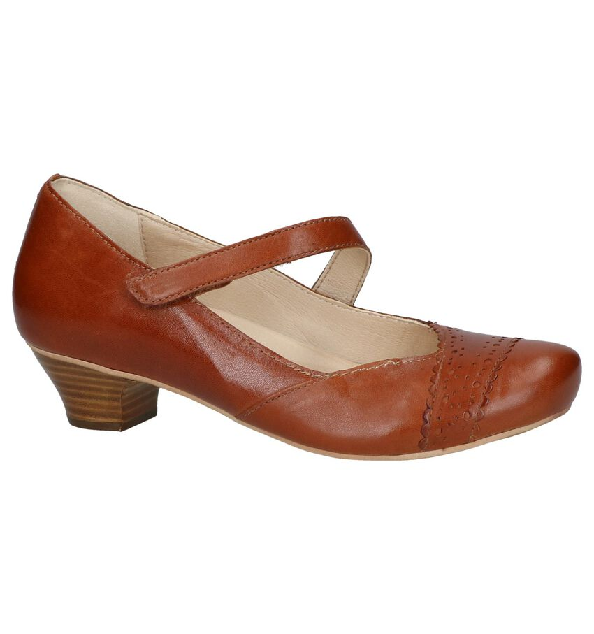 Cognac Pumps Brako Anatomics