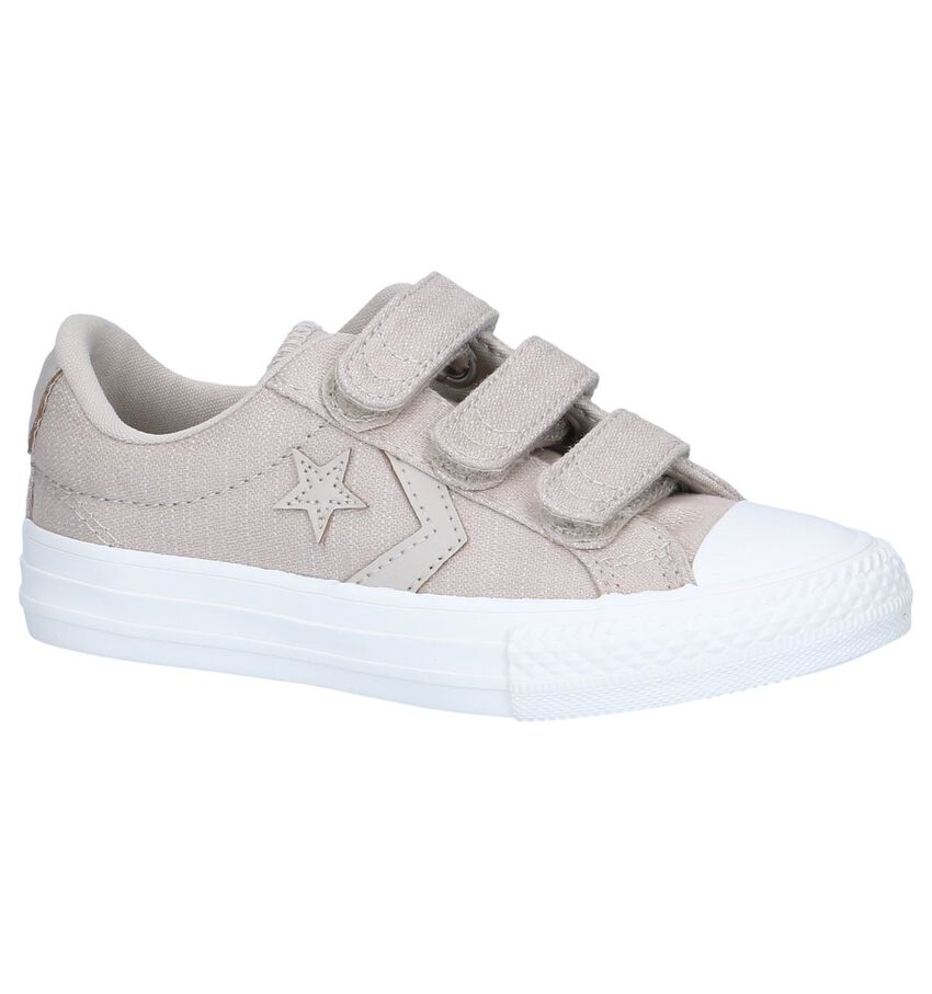 Beige Sneakers Converse Star Player 3V OX