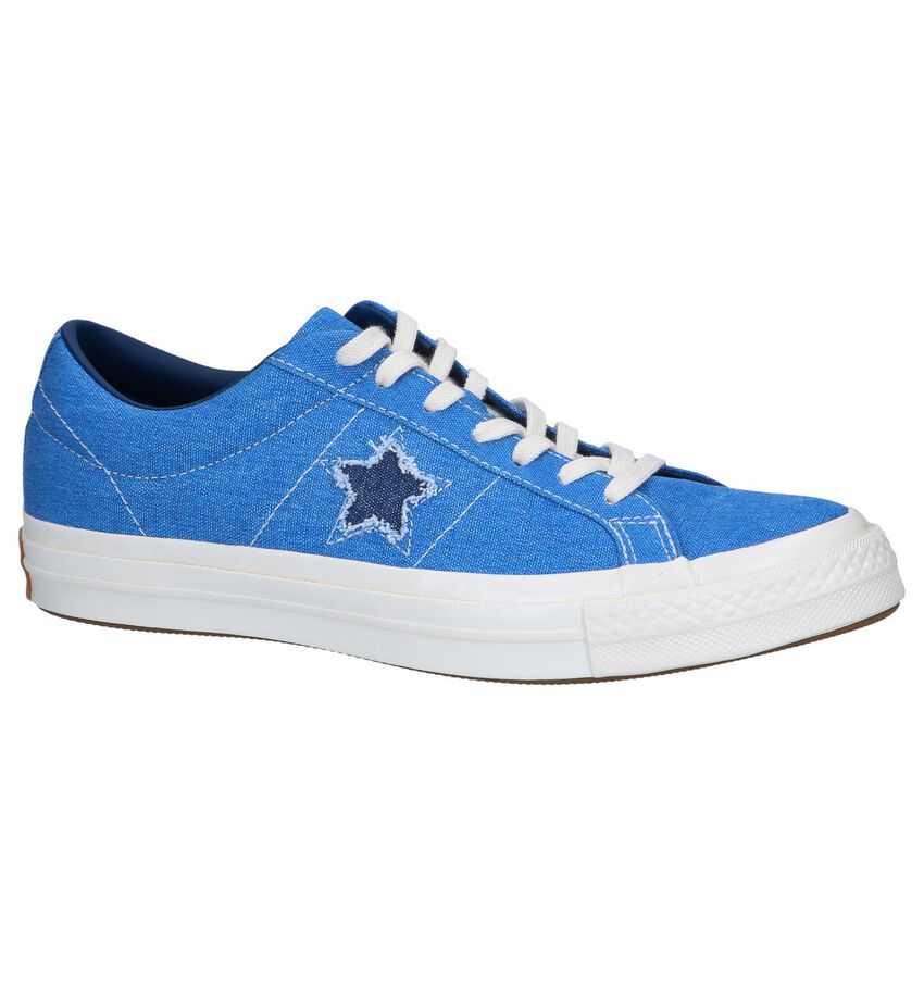 Blauwe Sneakers Converse One Star OX