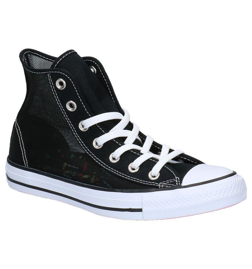 Zwarte Sneakers Converse All Star Hi