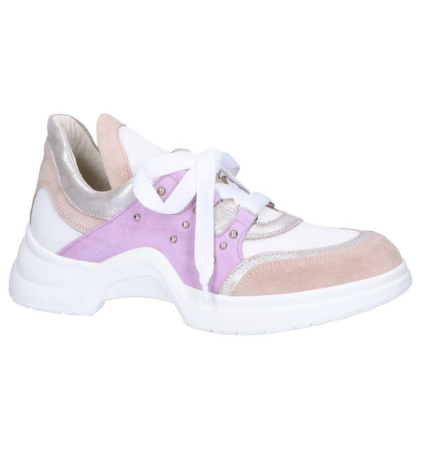 Roze Veterschoenen Tine's