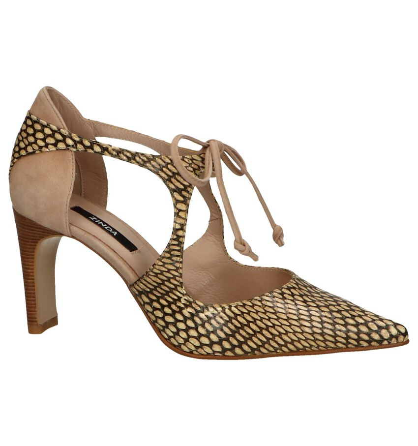 High Heel Pumps met Slangenprint Zinda