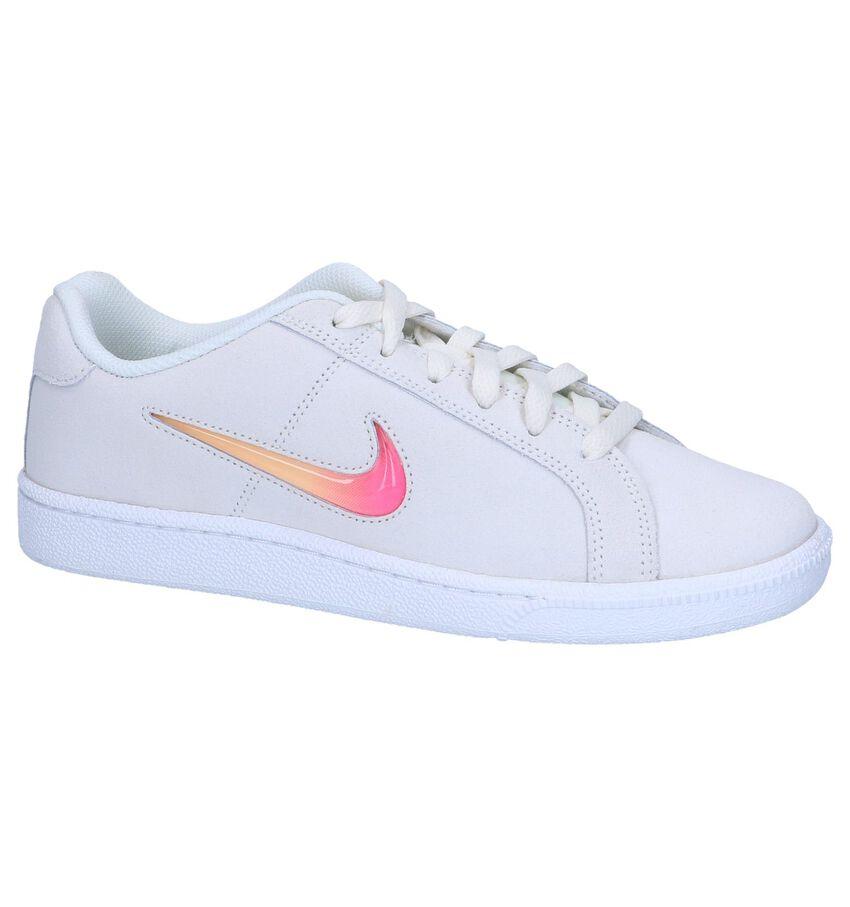 Beige Sneakers Nike Court Royale