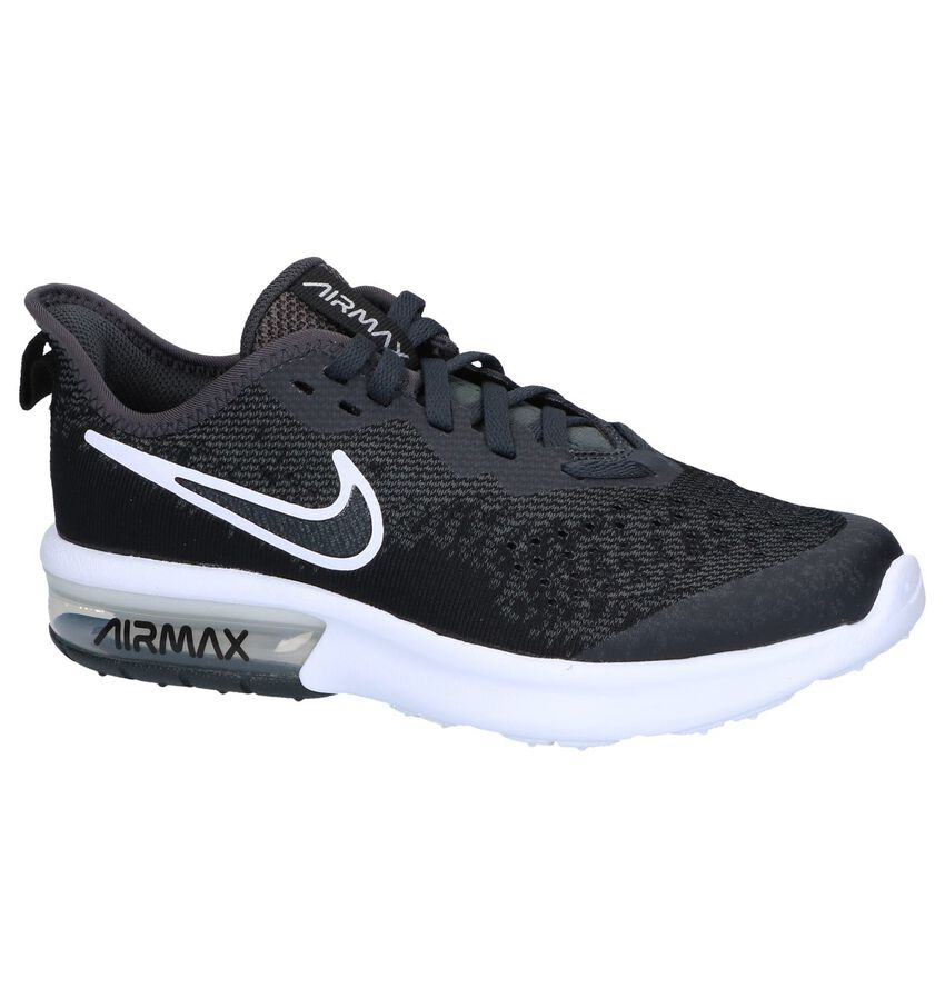 Zwarte Sneakers Nike Air Max Sequent 4 EP