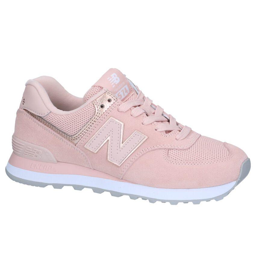 Roze Sneakers New Balance WL574