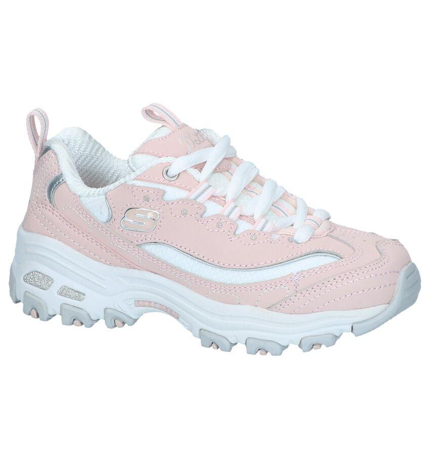 Roze Sneakers Skechers D'Lites