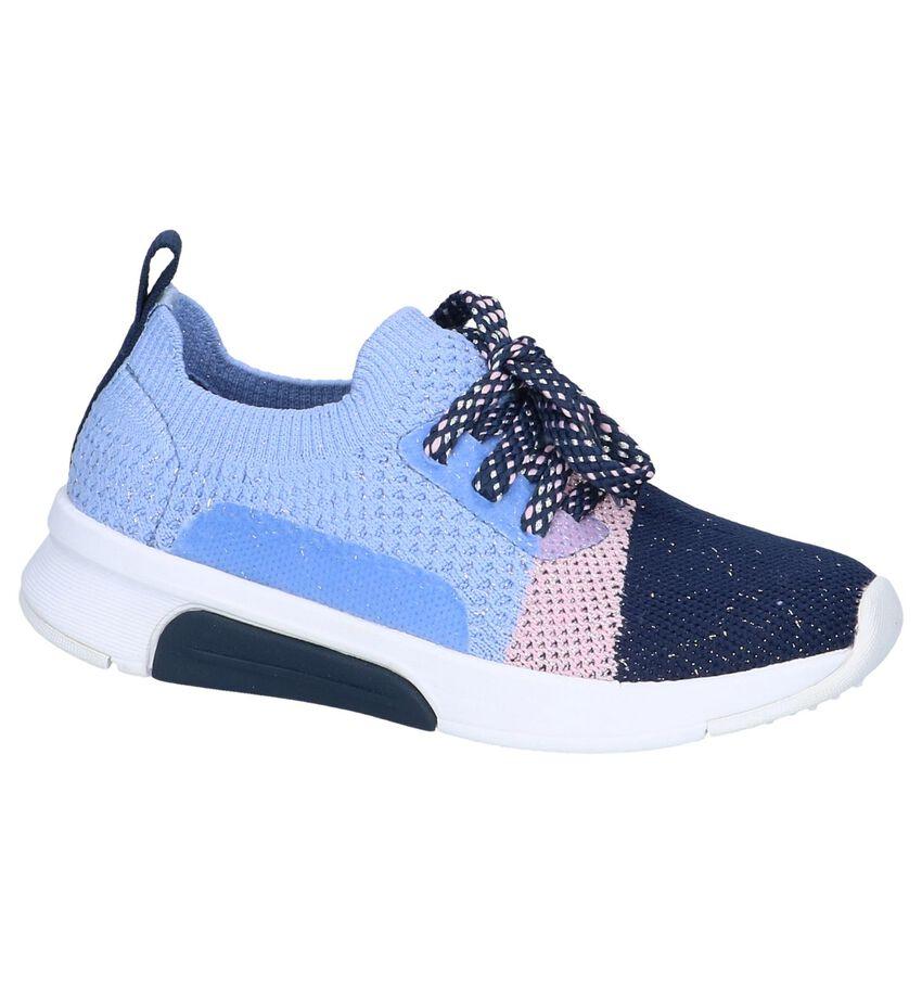 Paarse Slip-on Sneakers Skechers Modern Jogger