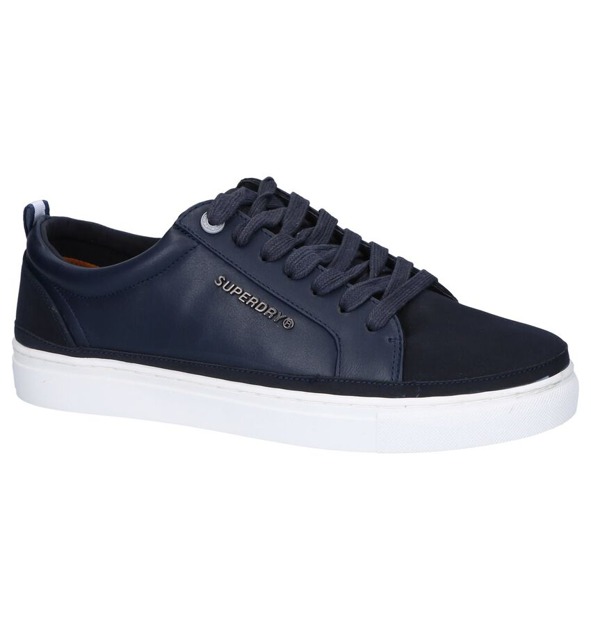 Donkerblauwe Veterschoenen Superdry Truman Lace Up
