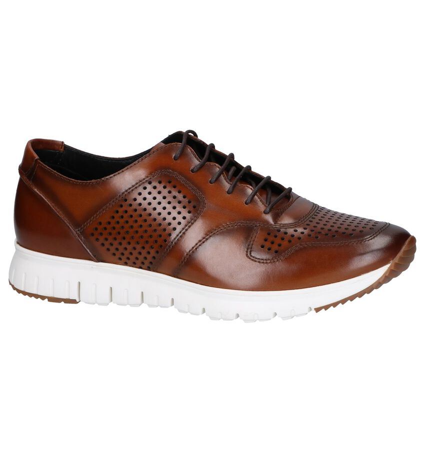 Cognac Casual Veterschoenen Steptronic Urban
