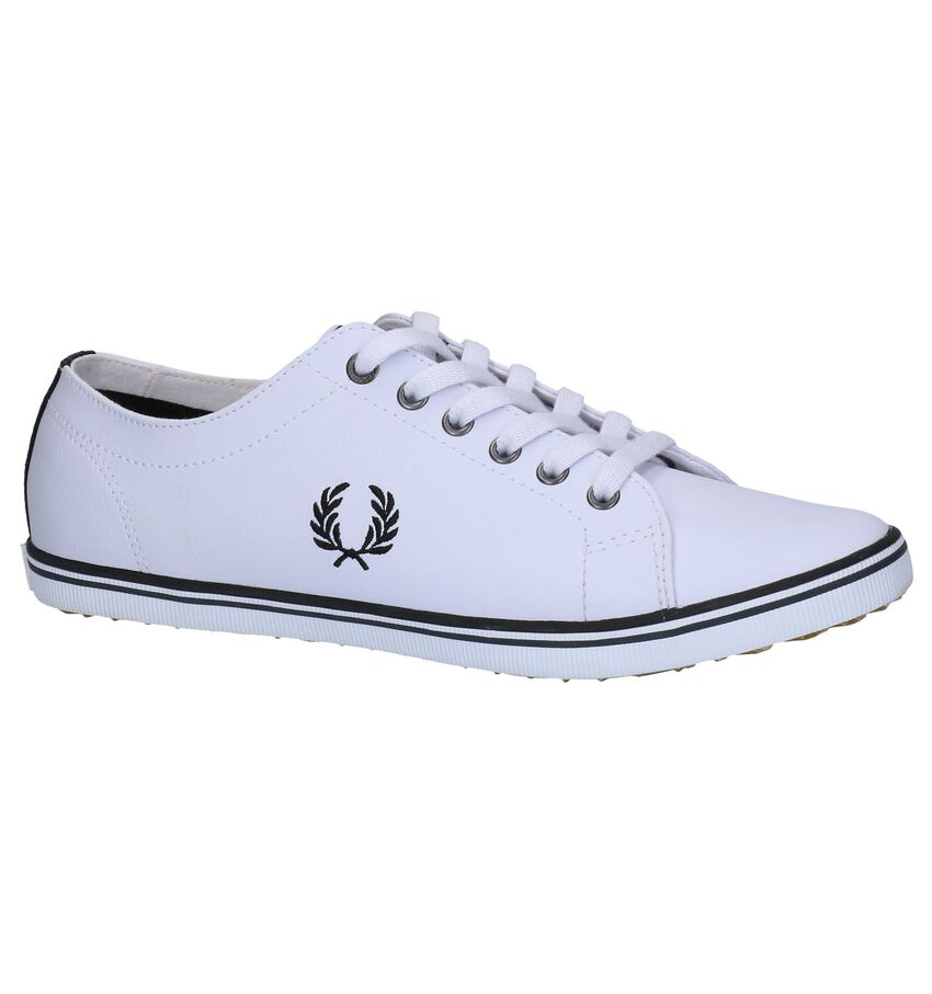 Witte Lage Sneakers Fred Perry