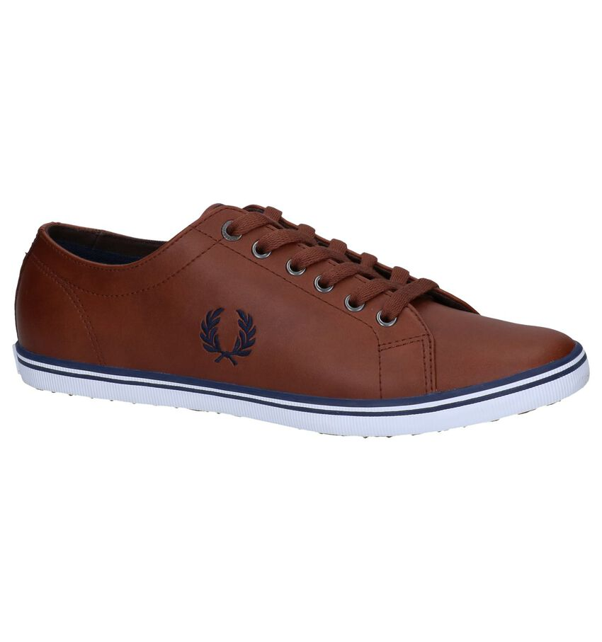 Cognac Sneakers Fred Perry