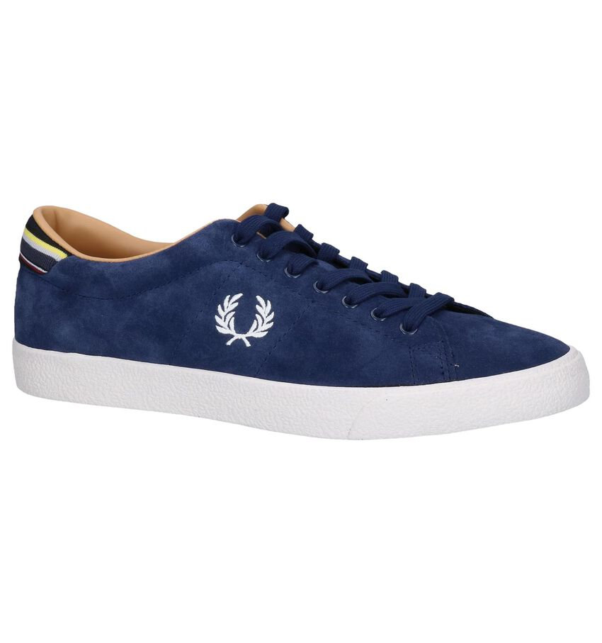 Donkerblauwe Sneakers Fred Perry