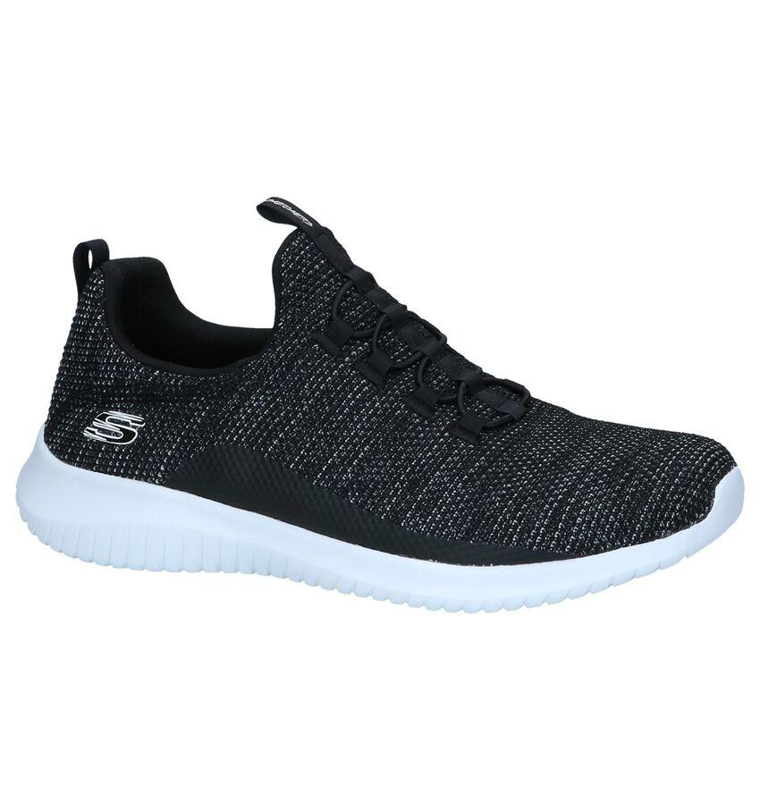 Zwarte Slip-on Sneakers Skechers Ultra Flex