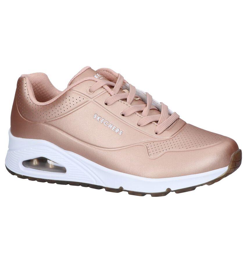 Rose Golden Sneakers Skechers