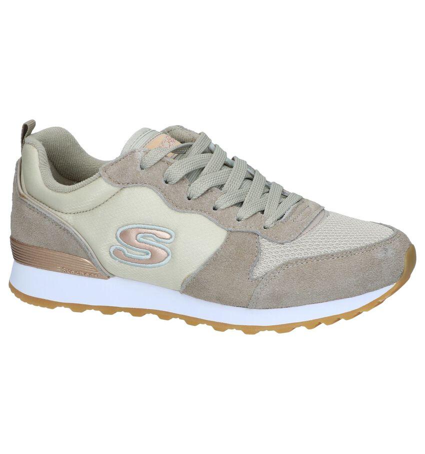 Taupe Sneakers Skechers 111 Gold'n Gurl