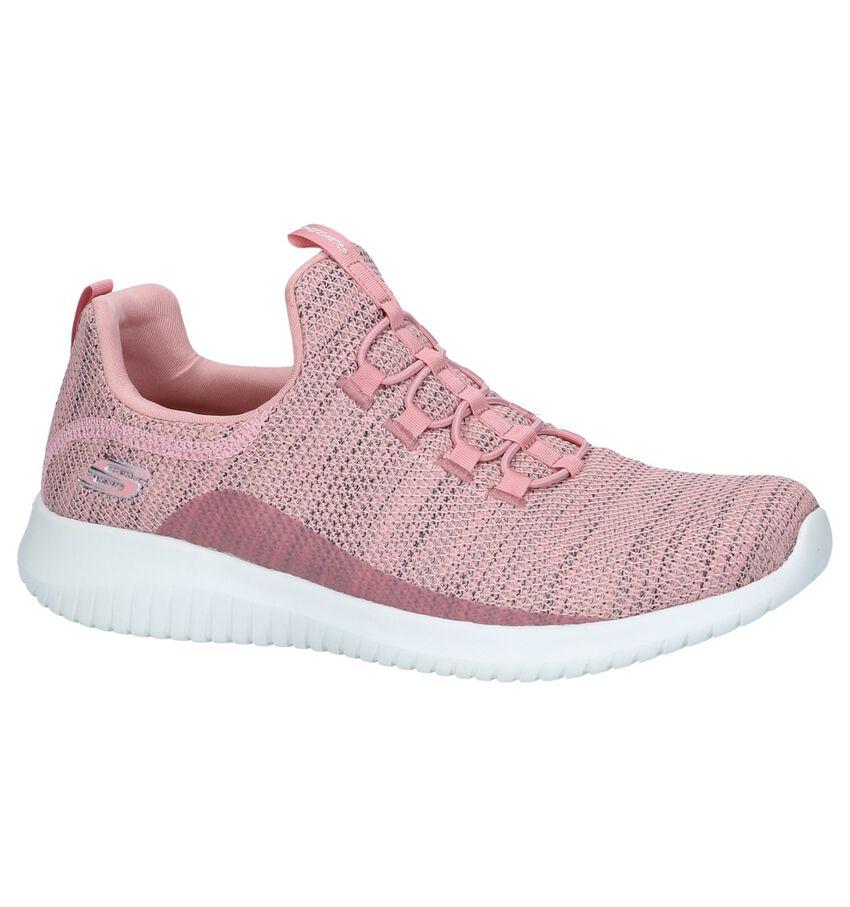Roze Slip-on Sneakers Skechers Ultra Flex