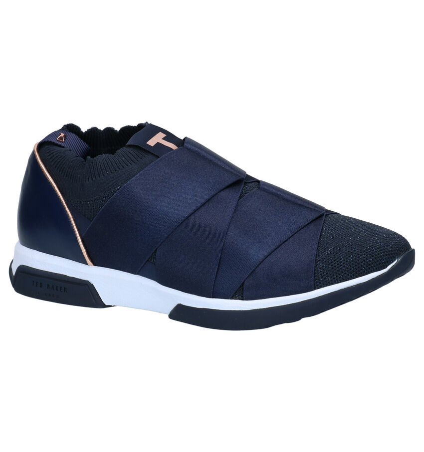 Ted Baker Queana Blauwe Slip-on Sneakers