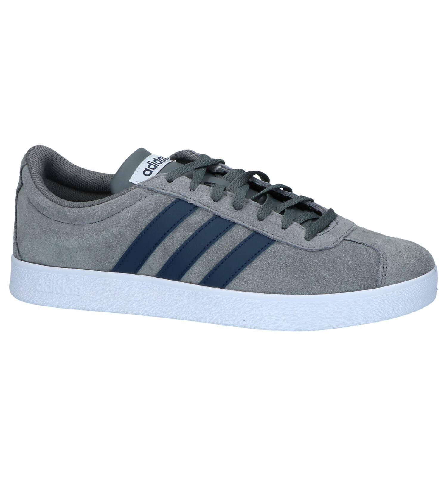 Donkergrijze Sneakers adidas VL Court 2.0 ⇒ Beste prijs €65